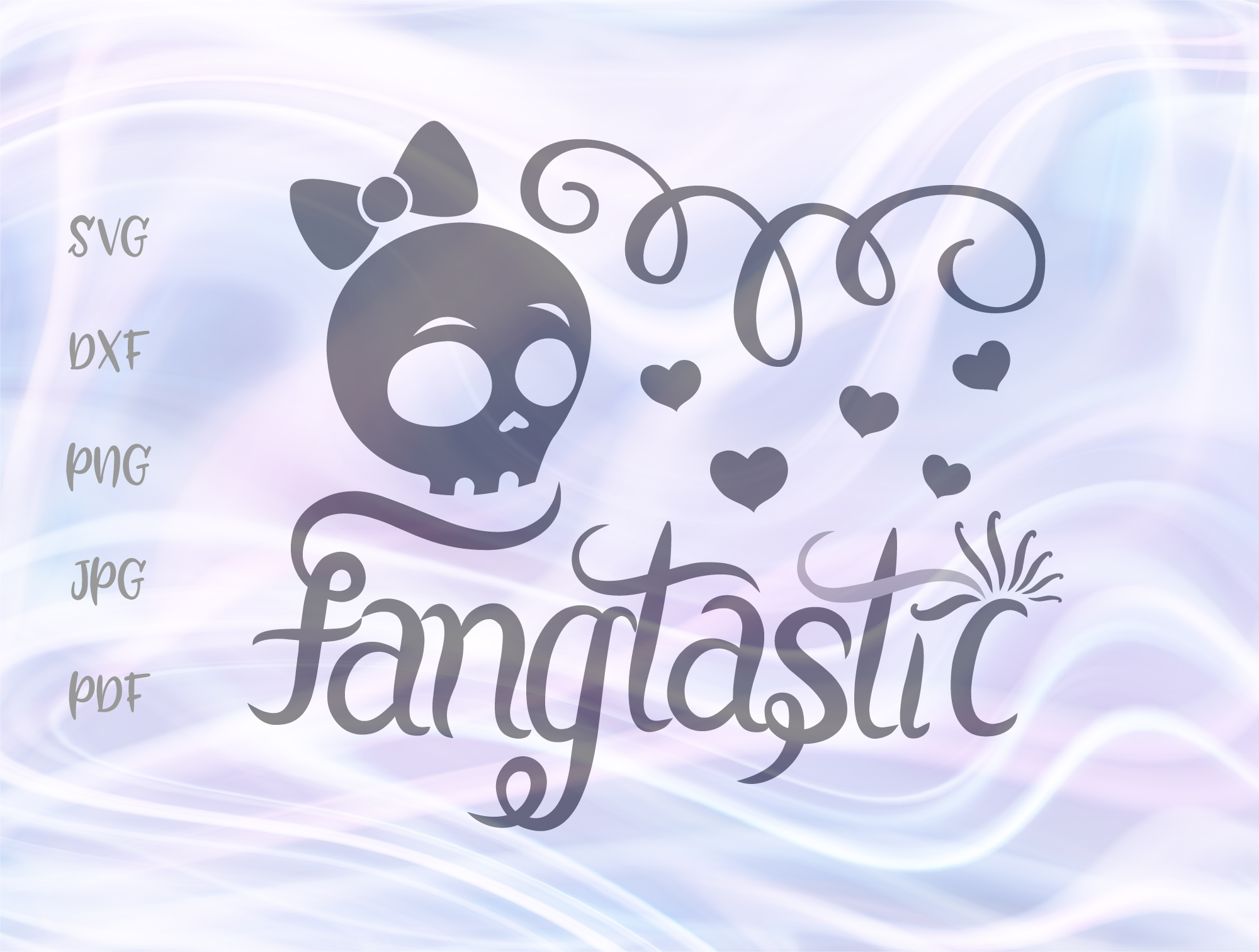 Download Free Fangtastic Happy Halloween Girl Skull Graphic By Digitals By SVG Cut Files