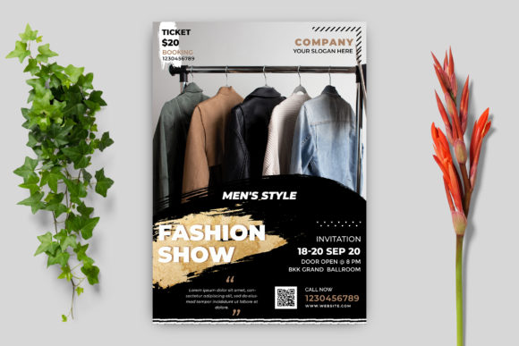 Fashion Show Flyer Template Graphic Print Templates By goku4501