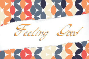 Feeling Good Font By little scar