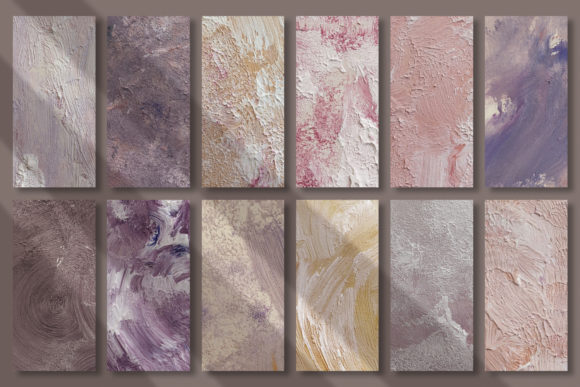 Fine Art Acrylic Paint Textures Graphic Textures By CatJello Graphics - Image 2