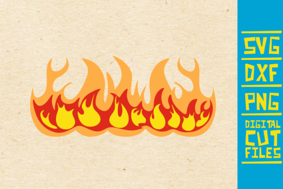 Download Free Fire Flames Flames Cricut Graphic By Svgyeahyouknowme Creative SVG Cut Files