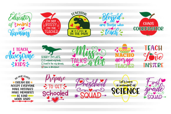 Download Free First Day Of School Graphic By Illustrator Guru Creative Fabrica for Cricut Explore, Silhouette and other cutting machines.