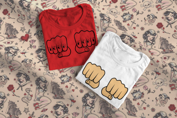 Fists Graphic Crafts By DesignedByGeeks