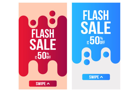 Flash Sale Graphic Backgrounds By fatih studio