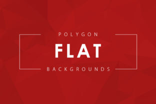 Flat Polygon Backgrounds Graphic By ArtistMef