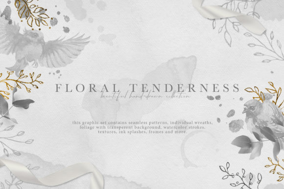 Floral Tenderness Graphic Illustrations By NassyArt