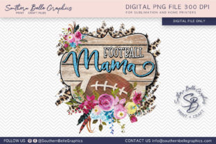 Football Mama Graphic By Southern Belle Graphics