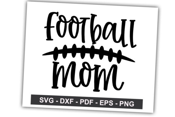 Print on Demand: Football Mom Graphic Crafts By svgbundle.net