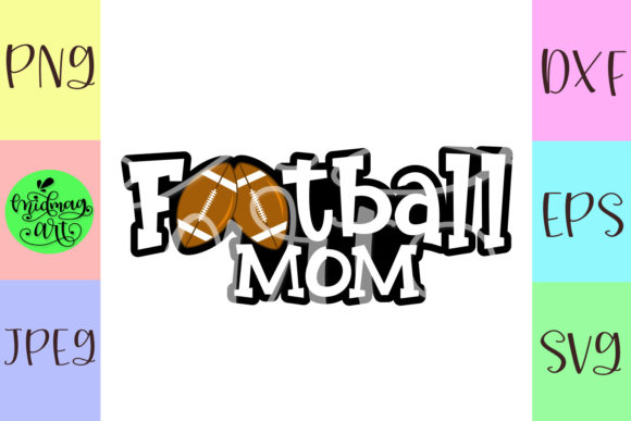 Football Mom Graphic Objects By MidmagArt - Image 2