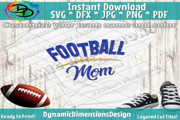 Download Free Football Graphic By Dynamicdimensions Creative Fabrica for Cricut Explore, Silhouette and other cutting machines.