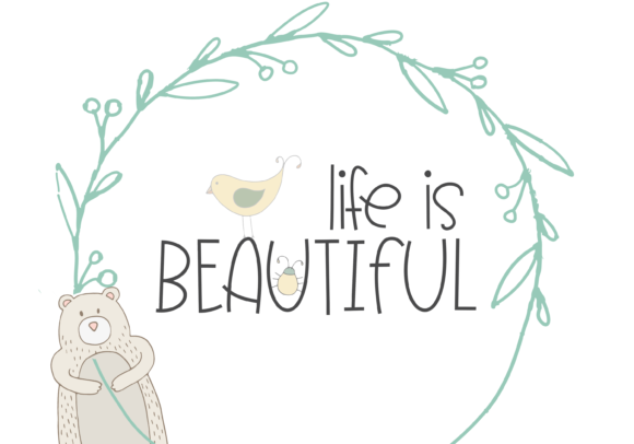 Print on Demand: Forest Friends Display Font By KA Designs - Image 4