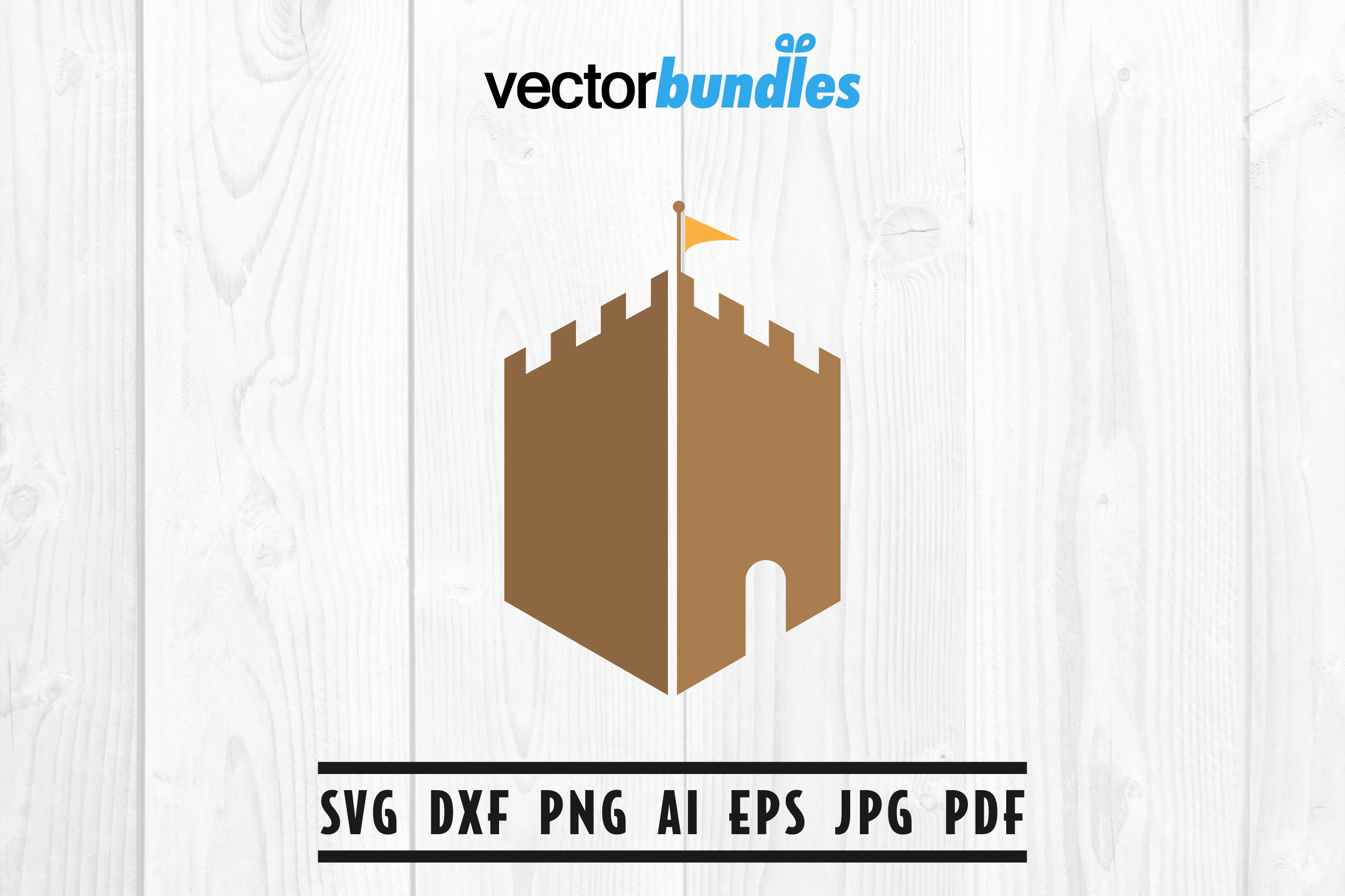 Fortress Clip Art Svg Graphic By Vectorbundles Creative Fabrica
