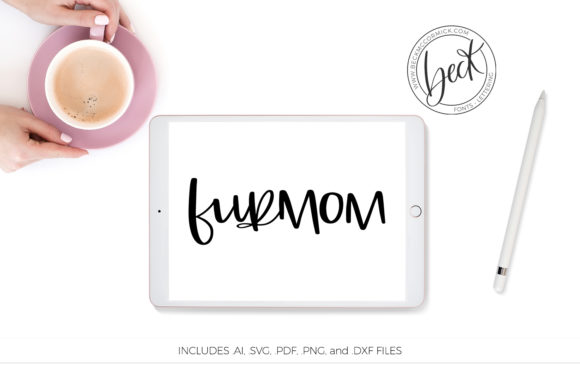 Print on Demand: Fur Mom Graphic Crafts By BeckMcCormick