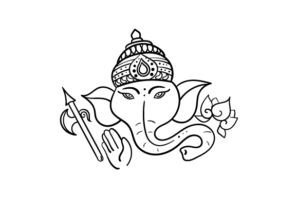 Ganesha Svg Cut File By Creative Fabrica Crafts Creative Fabrica