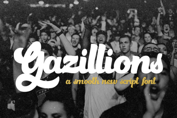 Print on Demand: Gazillions Script & Handwritten Font By Salt & Pepper Designs