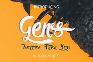 Gens Better Than You Font By Gens Creatif Store