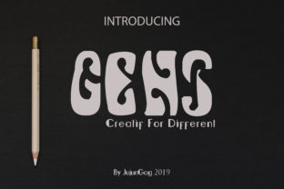 Gens New Font By Gens Creatif Store