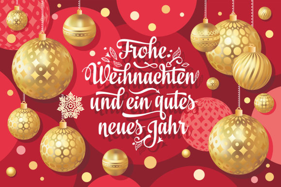 Download Free German Christmas Frohe Weihnachten Graphic By Zoyali Creative SVG Cut Files