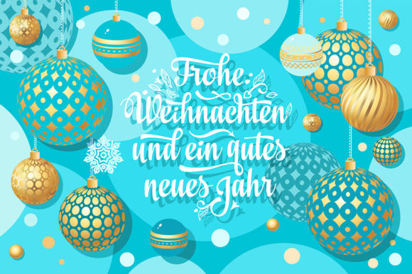 Download Free German Christmas Frohe Weihnachten Graphic By Zoyali Creative for Cricut Explore, Silhouette and other cutting machines.