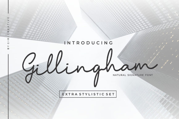 Print on Demand: Gillingham Script & Handwritten Font By Girinesia