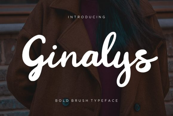 Print on Demand: Ginalys Script & Handwritten Font By CreatypeStudio