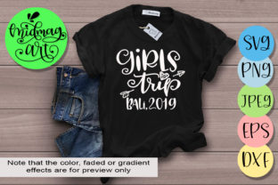 Download Free Girls Trip Bali 2019 Graphic By Midmagart Creative Fabrica for Cricut Explore, Silhouette and other cutting machines.