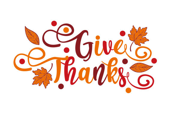 Give Thanks Thanksgiving Craft Cut File By Creative Fabrica Crafts
