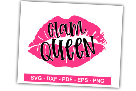 Print on Demand: Glam Queen Graphic Crafts By svgbundle.net