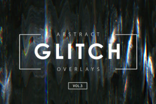 Download Free Glitch Effect Overlays Vol 1 Graphic By Artistmef Creative Fabrica for Cricut Explore, Silhouette and other cutting machines.