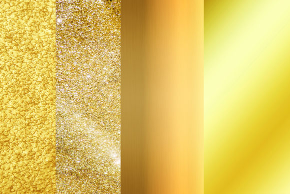 Download Free Gold Digital Paper Gold Background Graphic By Bonadesigns for Cricut Explore, Silhouette and other cutting machines.