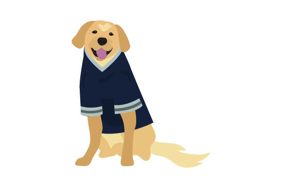 Download Free Golden Retriever In American Football Jersey Svg Cut File By for Cricut Explore, Silhouette and other cutting machines.