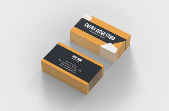 Print on Demand: Graphic Design Business Card Template Graphic Print Templates By denestudios - Image 2