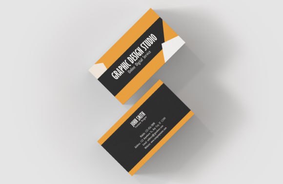 Print on Demand: Graphic Design Business Card Template Graphic Print Templates By denestudios - Image 5