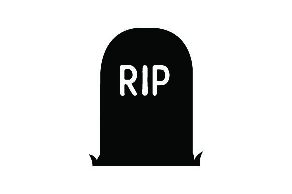 Download Free Gravestone With Grass Halloween Svg Cut File By Creative for Cricut Explore, Silhouette and other cutting machines.