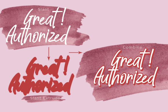 Print on Demand: Great Authorized Script & Handwritten Font By Haksen - Image 6