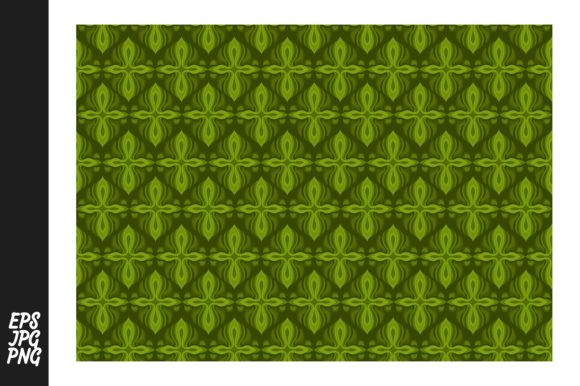 Print on Demand: Green Pattern Graphic Patterns By Arief Sapta Adjie II - Image 1