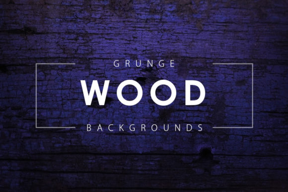 Print on Demand: Grunge Wood Backgrounds Graphic Backgrounds By ArtistMef