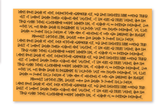 Print on Demand: Guidebook Display Font By Justina Tracy - Image 2
