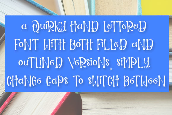 Print on Demand: Guidebook Display Font By Justina Tracy - Image 5