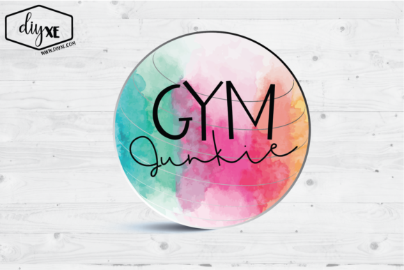 Gym Junkie Graphic Illustrations By Sheryl Holst