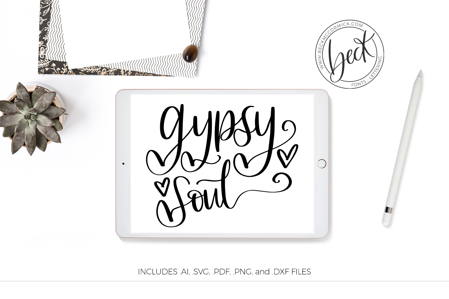 Download Free Gypsy Soul Graphic By Beckmccormick Creative Fabrica for Cricut Explore, Silhouette and other cutting machines.