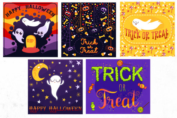 Print on Demand: Halloween Bundle 90 Elements Graphic Objects By tatiana.cociorva - Image 11