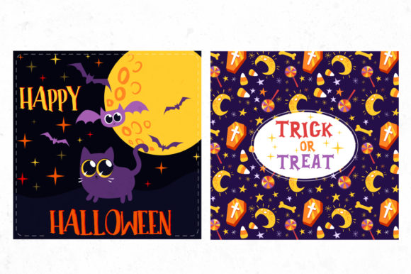 Print on Demand: Halloween Bundle 90 Elements Graphic Objects By tatiana.cociorva - Image 9