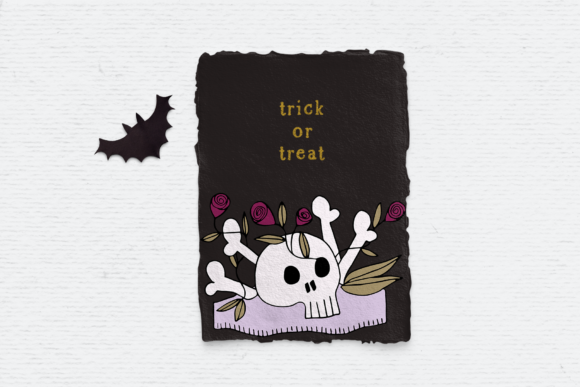 Print on Demand: Halloween Clipart Pack Graphic Illustrations By Wallifyer - Image 3