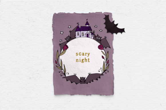 Print on Demand: Halloween Clipart Pack Graphic Illustrations By Wallifyer - Image 4