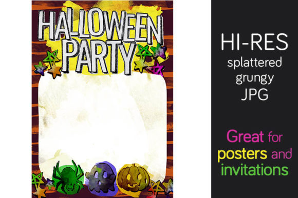 Print on Demand: Halloween Design for Poster Graphic Illustrations By Milaski