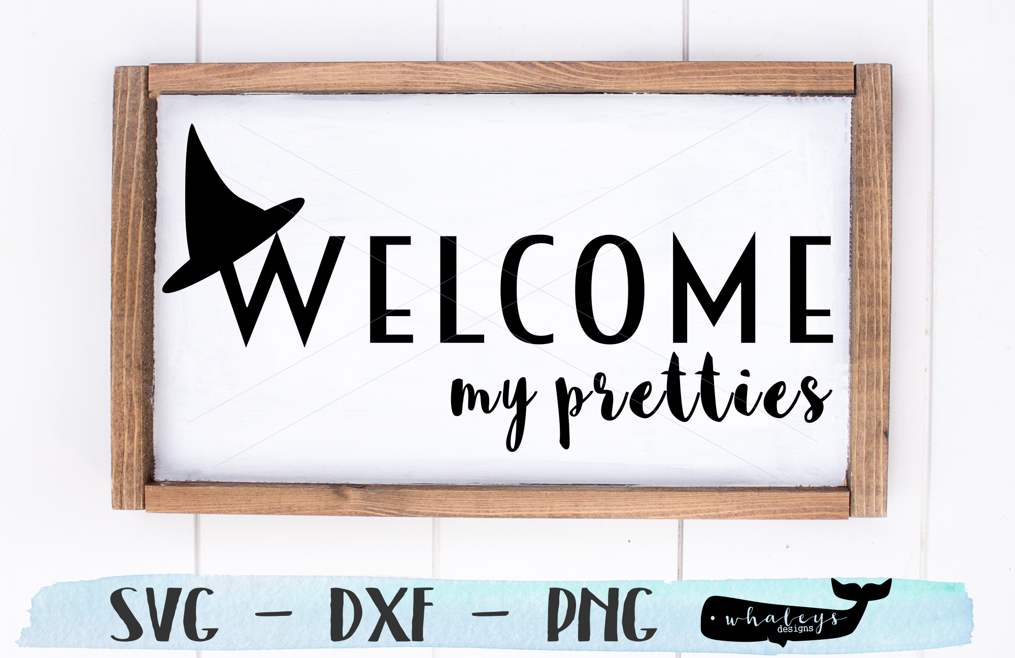 Download Free Halloween Fall Welcome Graphic By Whaleysdesigns Creative for Cricut Explore, Silhouette and other cutting machines.