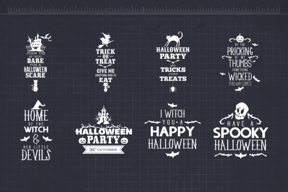 33 Halloween Quotes Graphic Crafts By Craft-N-Cuts - Image 4
