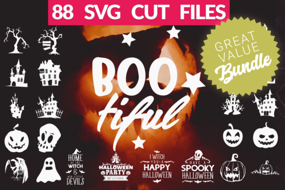Halloween SVG Bundle Graphic Crafts By Craft-N-Cuts
