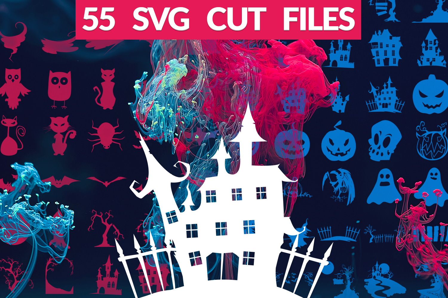 Download Free The Ultimate Halloween Svg Pack Graphic By Craft N Cuts for Cricut Explore, Silhouette and other cutting machines.